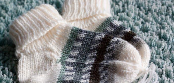Comment choisir les chaussettes d'un nouveau-né ?