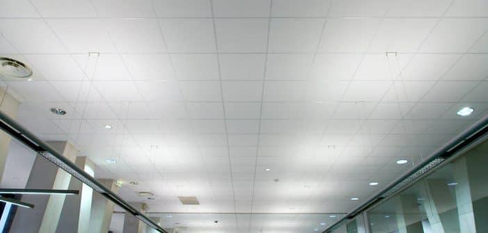 Le faux plafond : une solution déco originale et efficace